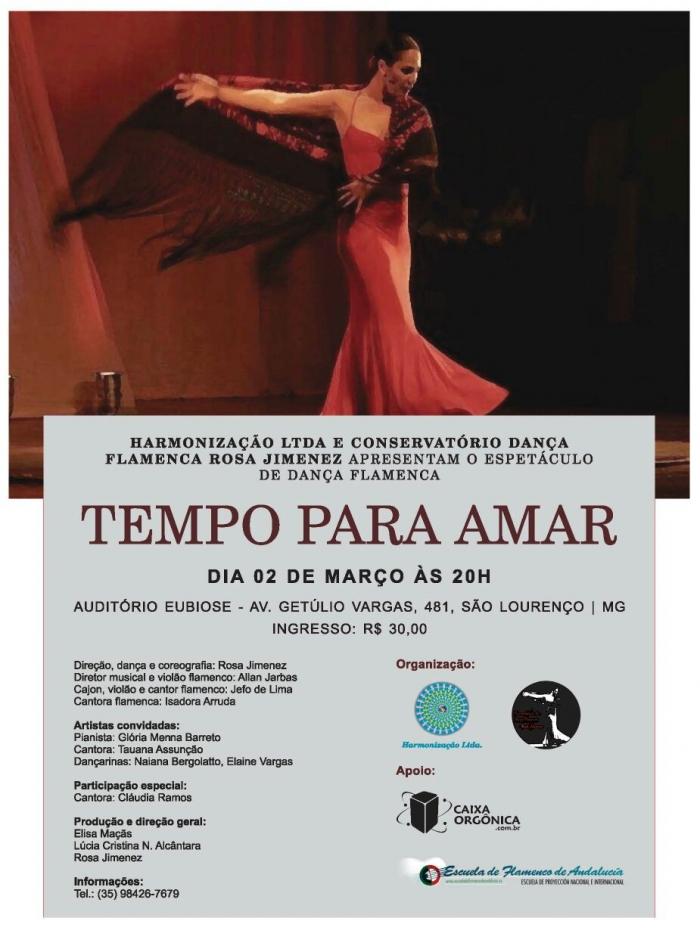 Tempo Para Amar - Espetáculo de Dança Flamenca