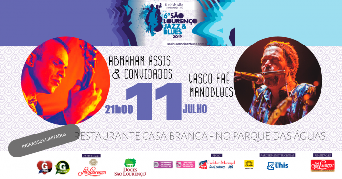 Warm Up - SL Jazz & Blues | Aquecimento para o festival