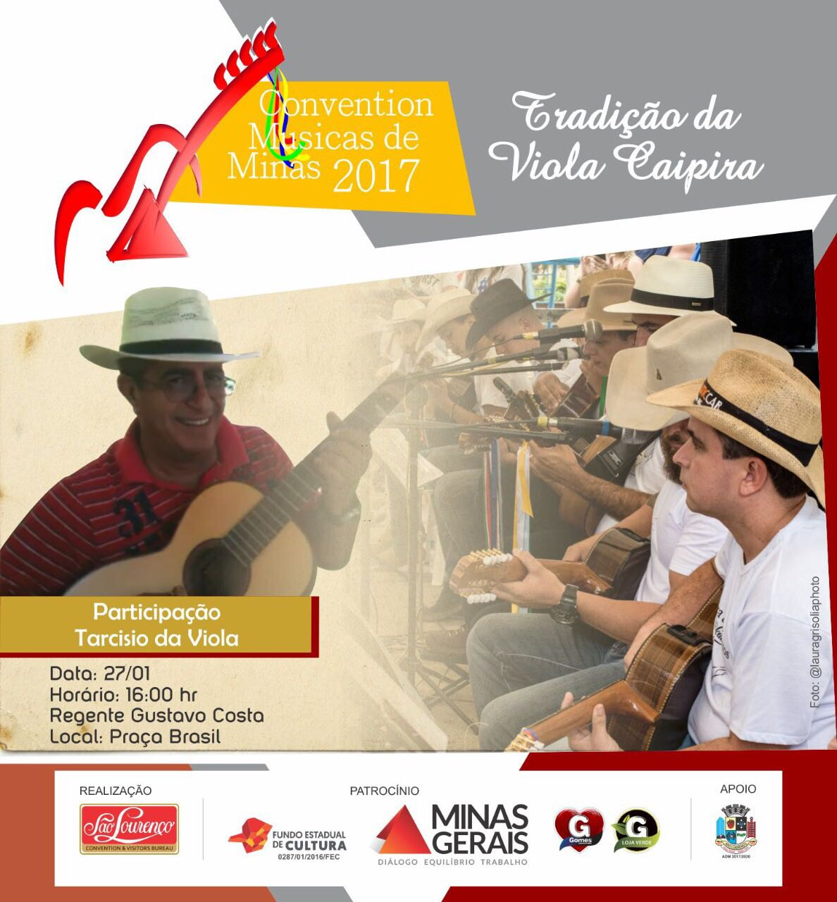 Convention Músicas de Minas