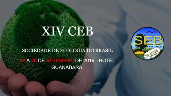 XIV Congresso Ecologia do Brasil