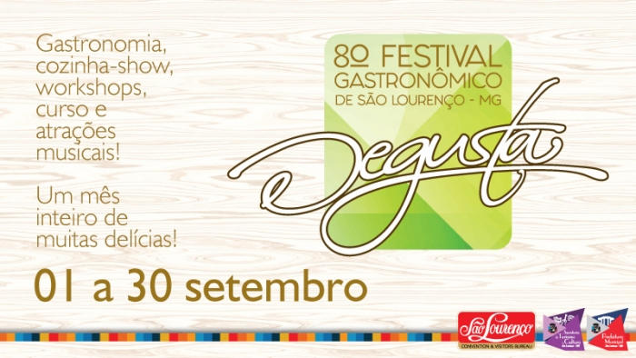 Degusta - 8º Festival Gastronômico de São Lourenço